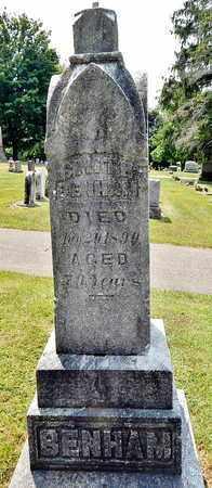 BENHAM, SMITH - Calhoun County, Michigan | SMITH BENHAM - Michigan Gravestone Photos