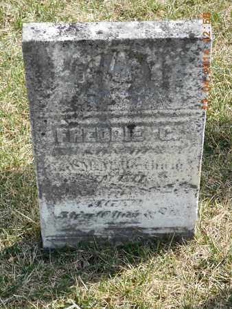 BENHAM, FREDDIE C. - Calhoun County, Michigan   FREDDIE C. BENHAM - Michigan Gravestone Photos