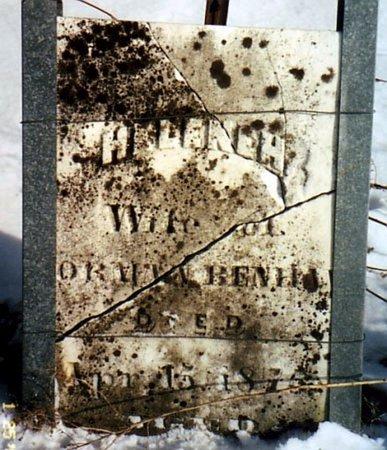 BENHAM, HELENEH - Calhoun County, Michigan | HELENEH BENHAM - Michigan Gravestone Photos