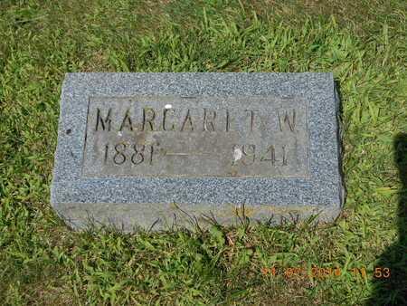 BENHAM, MARGARET W. - Calhoun County, Michigan | MARGARET W. BENHAM - Michigan Gravestone Photos