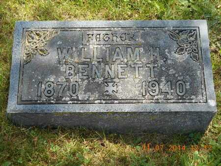 BENNETT, WILLIAM H. - Calhoun County, Michigan | WILLIAM H. BENNETT - Michigan Gravestone Photos