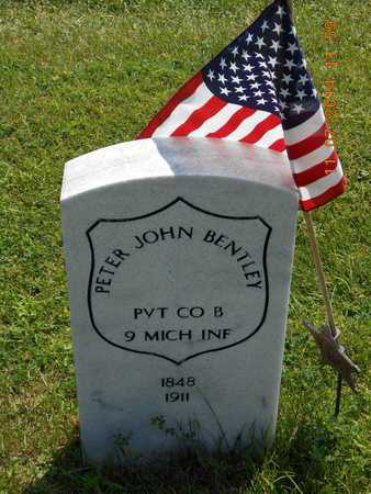 BENTLEY, PETER JOHN - Calhoun County, Michigan | PETER JOHN BENTLEY - Michigan Gravestone Photos