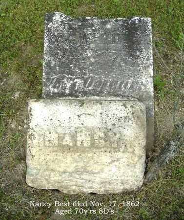 ECKERSON BEST, NANCY - Calhoun County, Michigan | NANCY ECKERSON BEST - Michigan Gravestone Photos