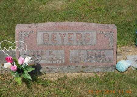 BEYERS, E. IRENE - Calhoun County, Michigan | E. IRENE BEYERS - Michigan Gravestone Photos