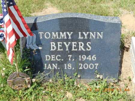 BEYERS, TOMMY LYNN - Calhoun County, Michigan | TOMMY LYNN BEYERS - Michigan Gravestone Photos