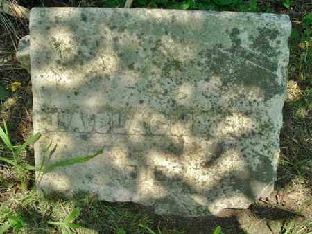 BLACKMAN, J. A. - Calhoun County, Michigan | J. A. BLACKMAN - Michigan Gravestone Photos