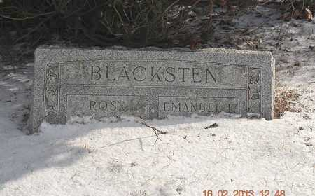 BLACKSTEN, ROSE - Calhoun County, Michigan   ROSE BLACKSTEN - Michigan Gravestone Photos