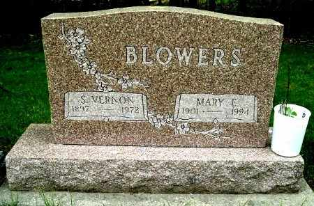 BLOWERS, MARY E - Calhoun County, Michigan | MARY E BLOWERS - Michigan Gravestone Photos