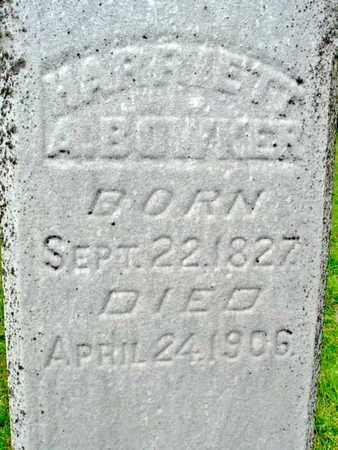 BOWKER, HARRIETT A. - Calhoun County, Michigan | HARRIETT A. BOWKER - Michigan Gravestone Photos