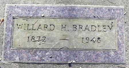 BRADLEY, WILLARD H - Calhoun County, Michigan | WILLARD H BRADLEY - Michigan Gravestone Photos