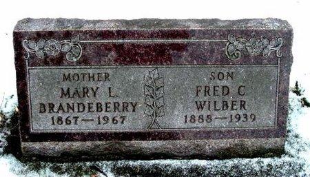 WILBER, FRED C. - Calhoun County, Michigan | FRED C. WILBER - Michigan Gravestone Photos