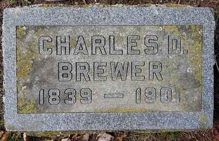 BREWER, CHARLES D - Calhoun County, Michigan | CHARLES D BREWER - Michigan Gravestone Photos