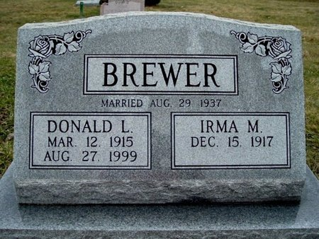 BREWER, DONALD L. - Calhoun County, Michigan | DONALD L. BREWER - Michigan Gravestone Photos