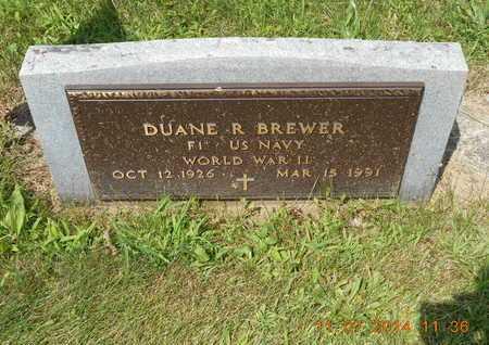 BREWER, DUANE RAY - Calhoun County, Michigan | DUANE RAY BREWER - Michigan Gravestone Photos