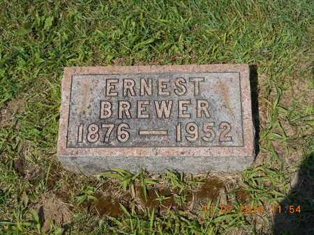 BREWER, ERNEST - Calhoun County, Michigan | ERNEST BREWER - Michigan Gravestone Photos