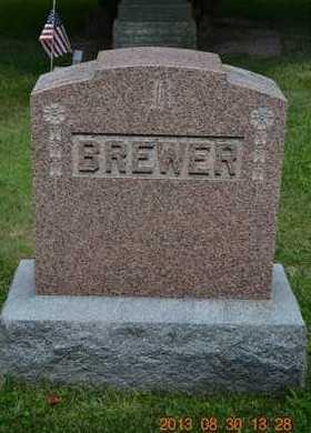 BREWER, FAMILY - Calhoun County, Michigan | FAMILY BREWER - Michigan Gravestone Photos