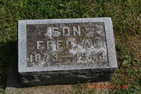 BREWER, FRED A. - Calhoun County, Michigan   FRED A. BREWER - Michigan Gravestone Photos