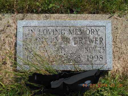 BREWER, FRANK LYNN - Calhoun County, Michigan | FRANK LYNN BREWER - Michigan Gravestone Photos