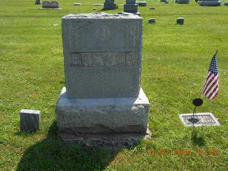 BREWER, FAMILY - Calhoun County, Michigan   FAMILY BREWER - Michigan Gravestone Photos
