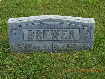 BREWER, WILLIAM W. - Calhoun County, Michigan | WILLIAM W. BREWER - Michigan Gravestone Photos