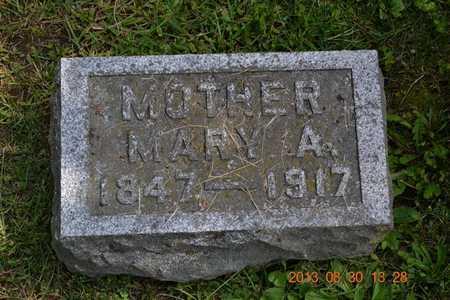 BREWER, MARY A. - Calhoun County, Michigan | MARY A. BREWER - Michigan Gravestone Photos