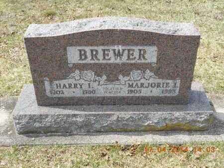 BREWER, HARRY I. - Calhoun County, Michigan | HARRY I. BREWER - Michigan Gravestone Photos