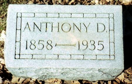 BROWN, ANTHONY D. - Calhoun County, Michigan | ANTHONY D. BROWN - Michigan Gravestone Photos