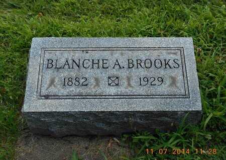 BROOKS, BLANCHE A. - Calhoun County, Michigan | BLANCHE A. BROOKS - Michigan Gravestone Photos