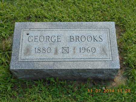 BROOKS, GEORGE - Calhoun County, Michigan | GEORGE BROOKS - Michigan Gravestone Photos
