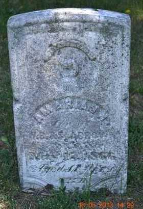 BROWN, AMARIAS N. - Calhoun County, Michigan | AMARIAS N. BROWN - Michigan Gravestone Photos
