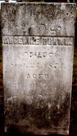 BROWN, ANGELINE - Calhoun County, Michigan   ANGELINE BROWN - Michigan Gravestone Photos