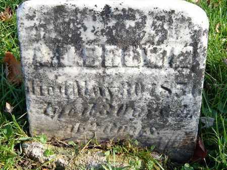 BROWN, A. D. - Calhoun County, Michigan   A. D. BROWN - Michigan Gravestone Photos