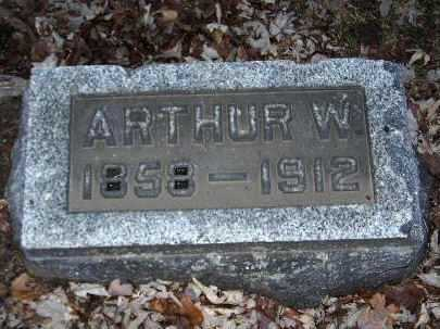 BROWN, ARTHUR W - Calhoun County, Michigan | ARTHUR W BROWN - Michigan Gravestone Photos
