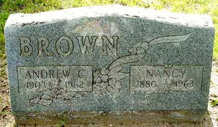 BROWN, NANCY - Calhoun County, Michigan | NANCY BROWN - Michigan Gravestone Photos