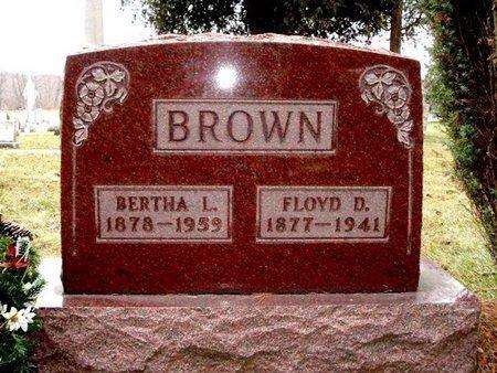 BROWN, BERTHA - Calhoun County, Michigan | BERTHA BROWN - Michigan Gravestone Photos