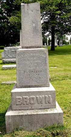 BROWN, ELIZABETH - Calhoun County, Michigan   ELIZABETH BROWN - Michigan Gravestone Photos