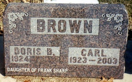 BROWN, CARL - Calhoun County, Michigan | CARL BROWN - Michigan Gravestone Photos