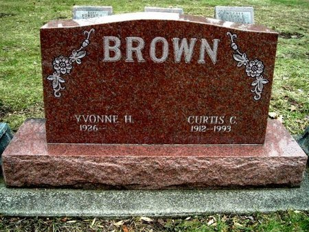 BROWN, CURTIS C. - Calhoun County, Michigan | CURTIS C. BROWN - Michigan Gravestone Photos