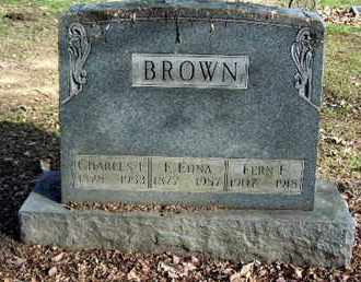BROWN, EUNICE EDNA - Calhoun County, Michigan | EUNICE EDNA BROWN - Michigan Gravestone Photos