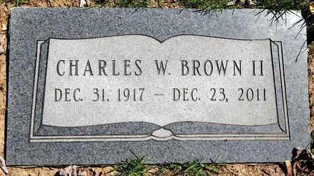 BROWN, CHARLES W. II - Calhoun County, Michigan | CHARLES W. II BROWN - Michigan Gravestone Photos
