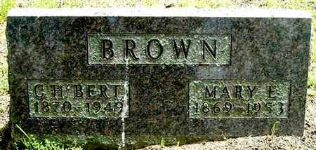 BROWN, C. H. BERT - Calhoun County, Michigan | C. H. BERT BROWN - Michigan Gravestone Photos