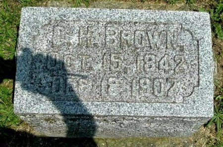 BROWN, DANIEL H - Calhoun County, Michigan | DANIEL H BROWN - Michigan Gravestone Photos