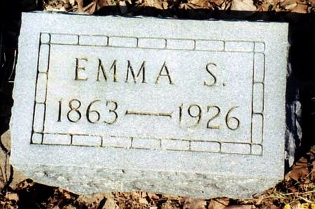 BROWN, EMMA S. - Calhoun County, Michigan | EMMA S. BROWN - Michigan Gravestone Photos
