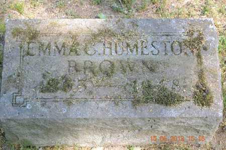 BROWN, EMMA C. - Calhoun County, Michigan | EMMA C. BROWN - Michigan Gravestone Photos