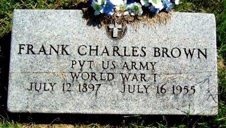 BROWN, FRANK C - Calhoun County, Michigan | FRANK C BROWN - Michigan Gravestone Photos