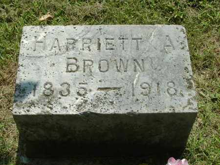 BROWN, HARRIETT A. - Calhoun County, Michigan | HARRIETT A. BROWN - Michigan Gravestone Photos