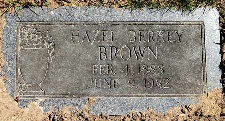 BROWN, HAZEL - Calhoun County, Michigan | HAZEL BROWN - Michigan Gravestone Photos