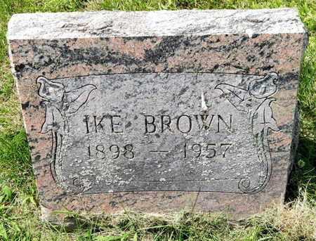 BROWN, IKE - Calhoun County, Michigan | IKE BROWN - Michigan Gravestone Photos