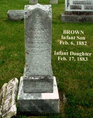 BROWN, INFANT DAUGHTER - Calhoun County, Michigan | INFANT DAUGHTER BROWN - Michigan Gravestone Photos