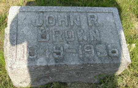 BROWN, JOHN R - Calhoun County, Michigan | JOHN R BROWN - Michigan Gravestone Photos